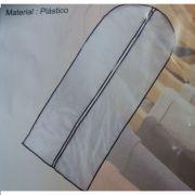 Capa Protetora De Plastico Para Roupa 60X137cm