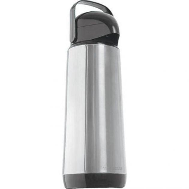 Garrafa Termica Lumina Inox 1 Litro Com Bomba