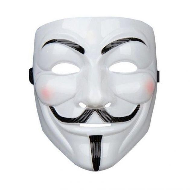Mascara Plastica Cosplay Anonymous V De Vingança
