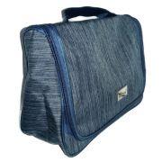 Necessaire Organizadora Impermeavel Azul Jeans