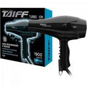 Secador de Cabelo 1900W220V TURBO ÍON Preto TAIFF